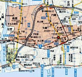 茅ヶ崎北西マップ
