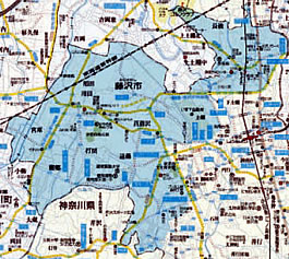 藤沢北支部マップ